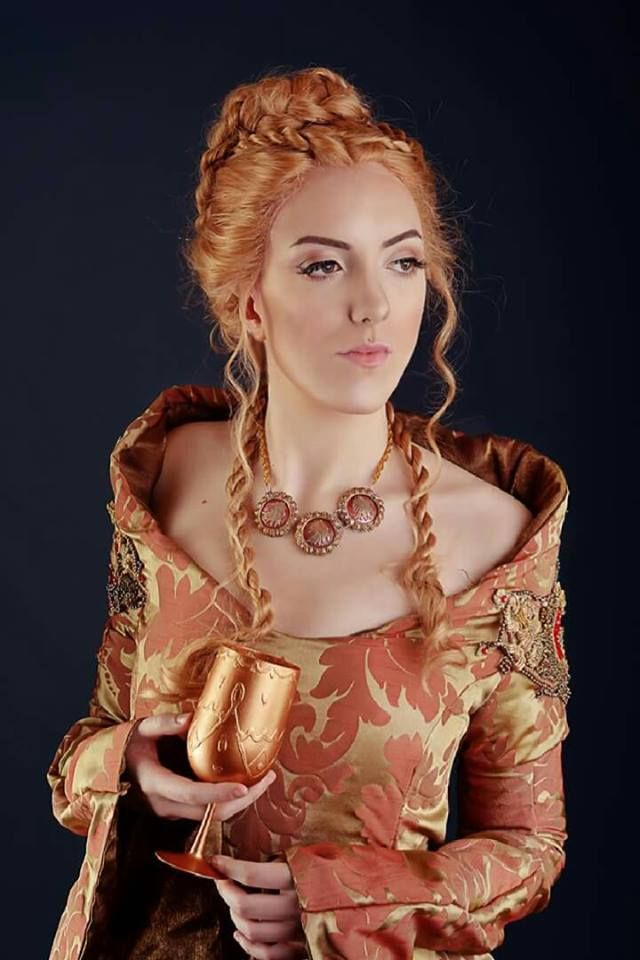 Cersei Lannister Cosplay - Purple Wedding Outfit - Album on Imgur