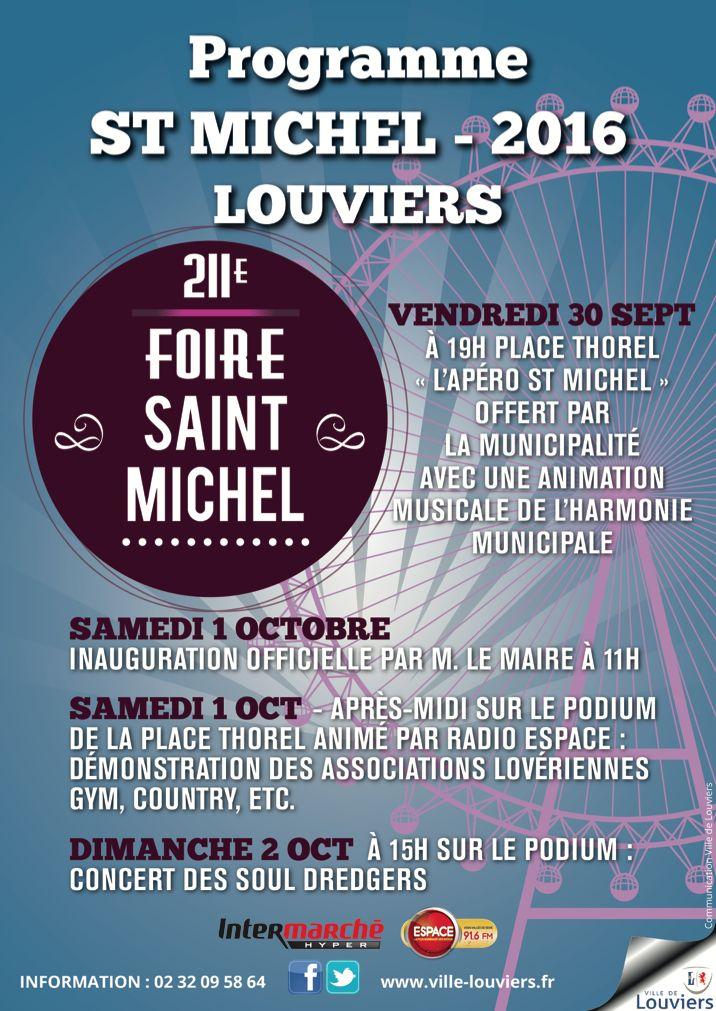 Le programme de la Saint-Michel de #Louviers est à vous !