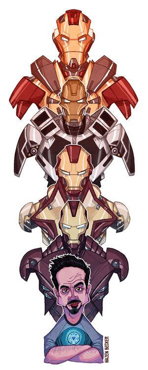 Iron Man 3 - Hazen Becker