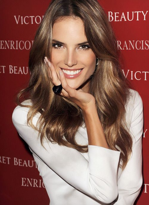Alessandra Ambrosio Hair Color