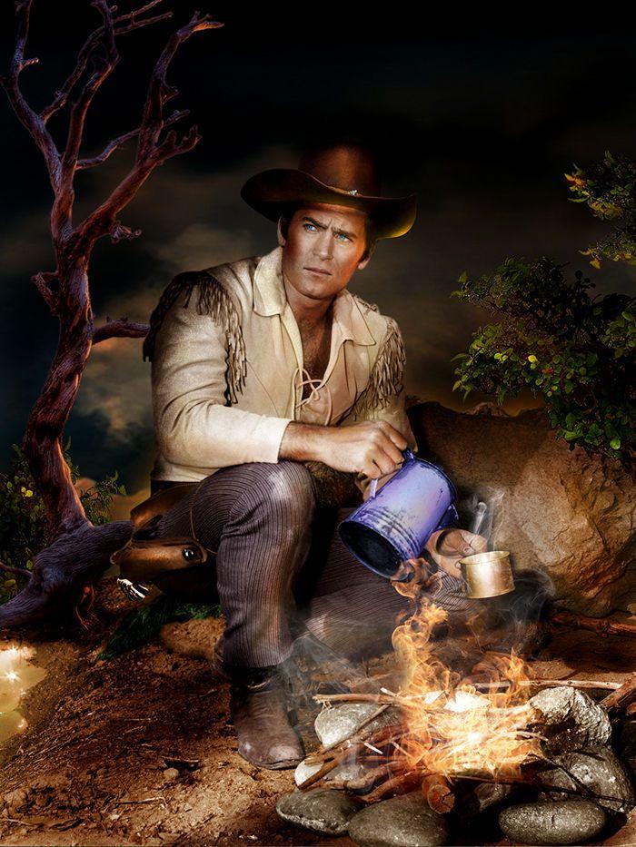 Clint Walker - Cheyenne - 8 1/2 X 11 Metek Artwork                                                                                                                                                                                 More