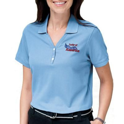 15 best custom womens polo shirts embroidered images on for Custom shirt embroidery no minimum