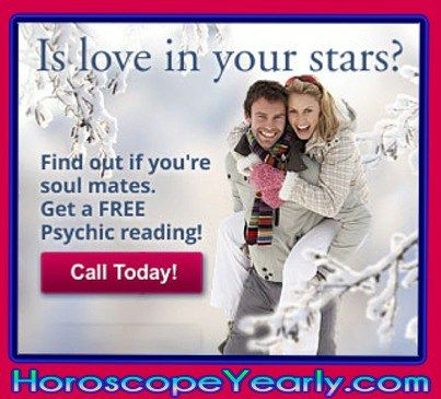 Is love in your stars? Wondering who your soul mate is - and if this person might already be in your life... or how to meet him or her? This Tarot reading analyzes your side of the relationship as well as your love interest's side, and then shows you the final result. You'll know how close you are to true love once you get your Soul Mate Tarot reading! Click here to get yours: http://www.horoscopeyearly.com/free-astrological-compatibility-test/
