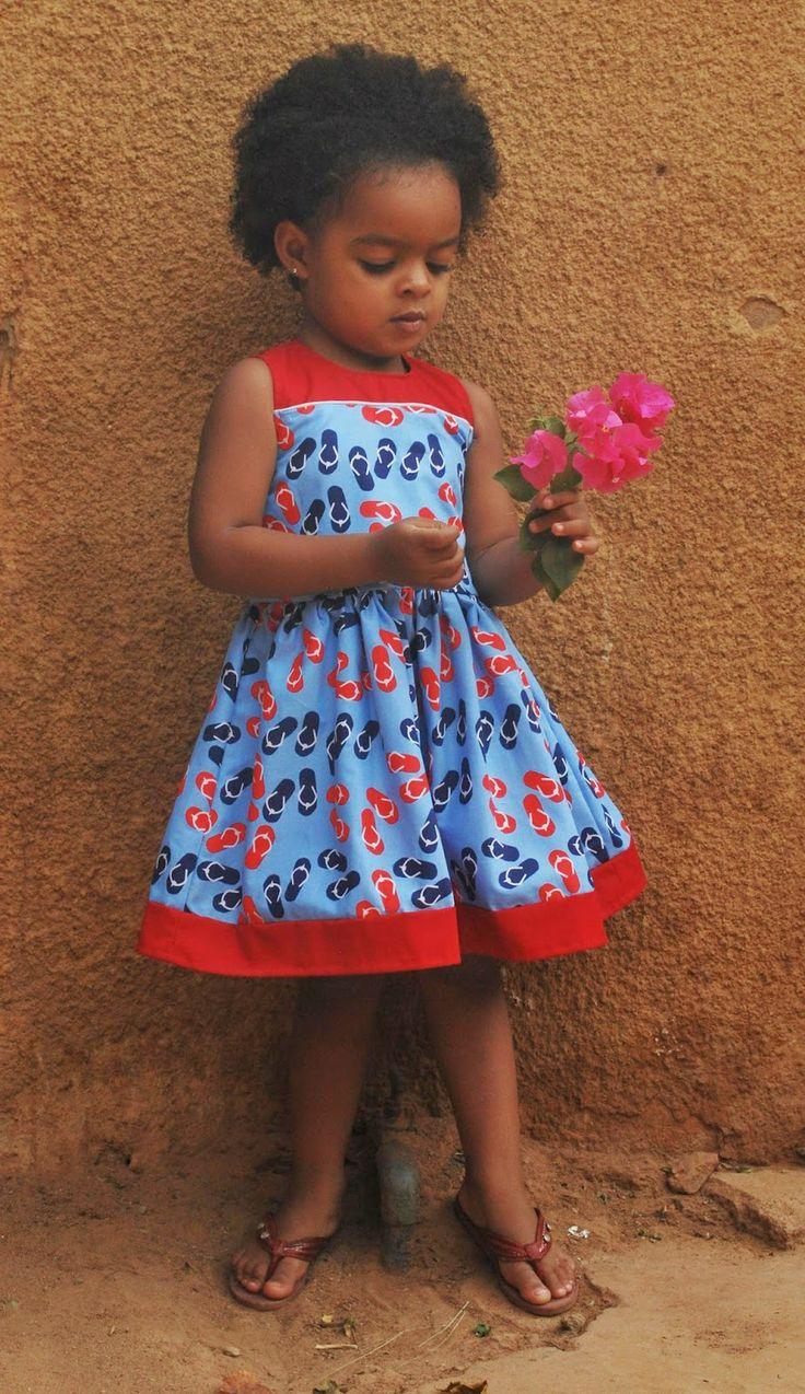Petite Bout de Chou: Het tapettenjurkje, een jurkje tussendoor