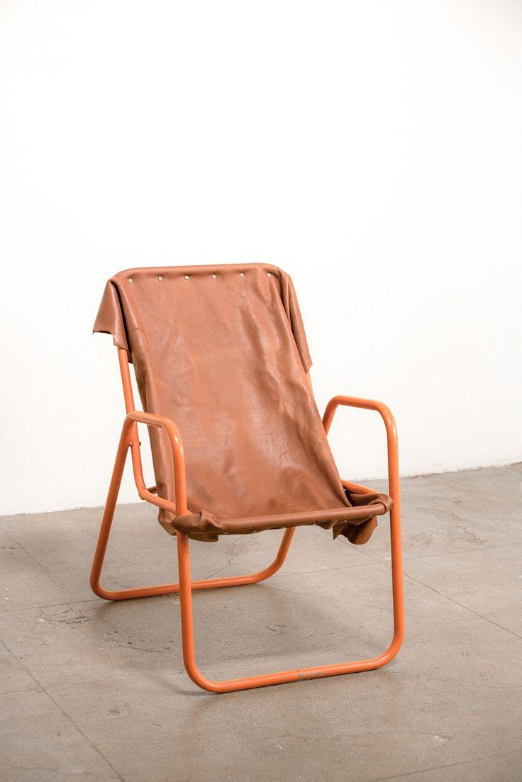 Orange Leatherback Chair. Atlantic FurnitureRocking ...