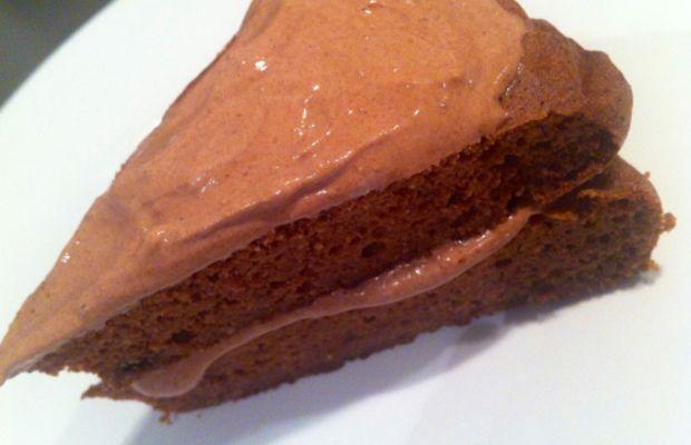 Sjokoladekake sunn