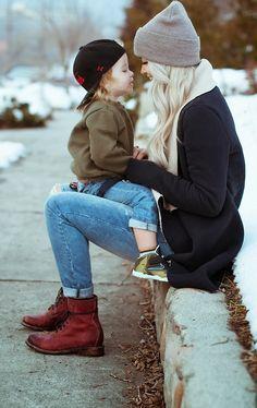 Mama and Son <3 Love!