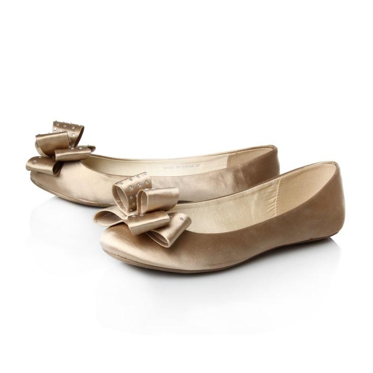 Leah Miss KG flat wedding shoes