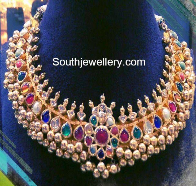 navratna tussi necklace