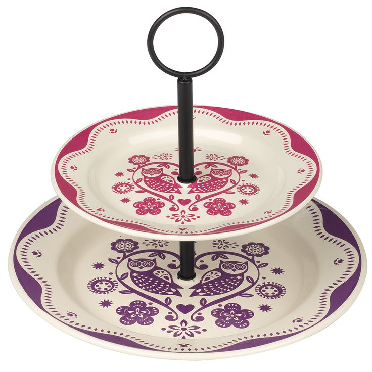Folklore Cake Stand by Quirky European Designs on POP.COM.AU