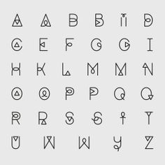 typography alphabet - Recherche Google