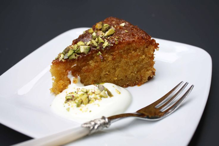 Easy Orange and Polenta Cake