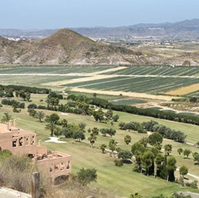 Marina golf course Mojacar Almeria Spain