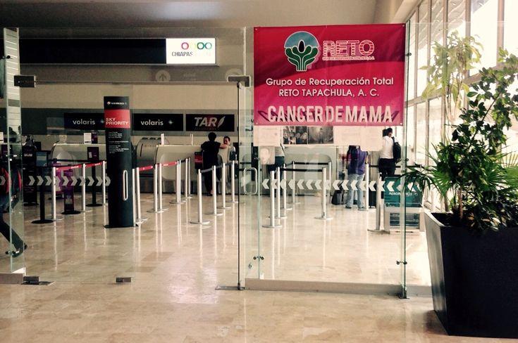 Campaña de apoyo contra el cáncer de mama en el Aeropuerto de Tuxtla Gutiérrez - http://plenilunia.com/cancer/campana-de-apoyo-contra-el-cancer-de-mama-en-el-aeropuerto-de-tuxtla-gutierrez/37514/