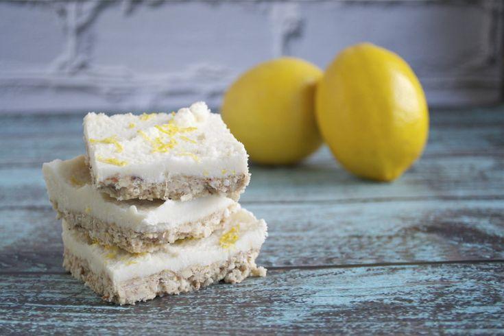 No-Bake Coconut Lemon Squares