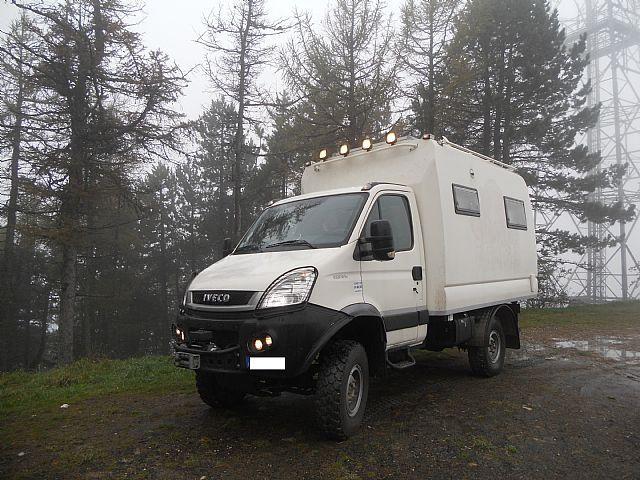 Iveco Daily 4x4 55sw18 Vas Roulotte Camper Camper Altro
