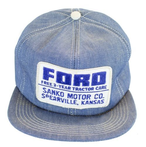 3327389f0 4 ViNtAgE FORD TRACTOR PATCH TRUCKER HAT SNAP BACK cap | Rodeo in ...