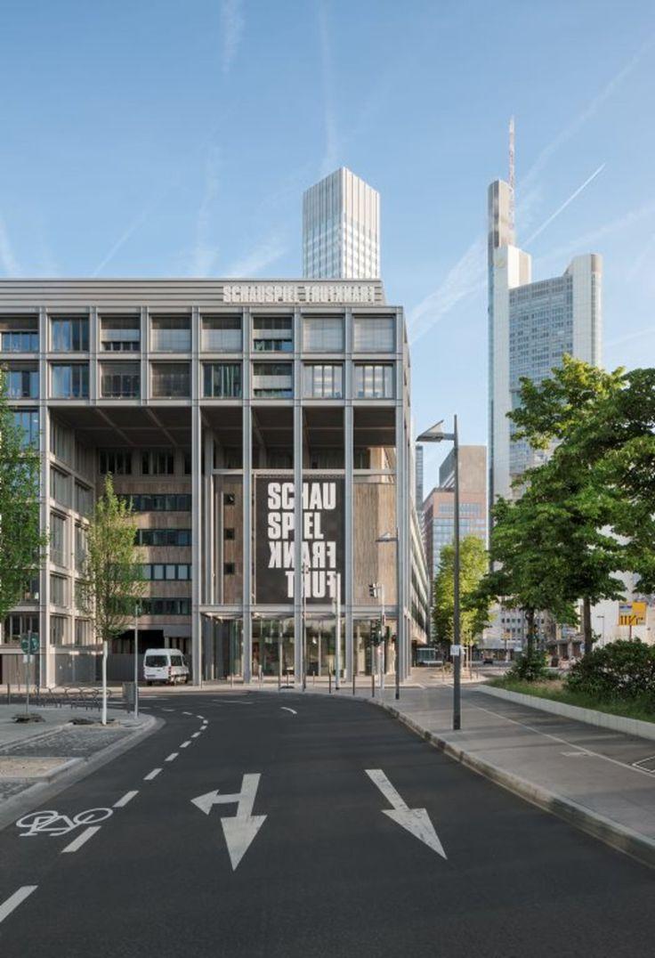 Gmp Architekten - Von Gerkan, Marg und Partner · Theatre workshops of Städtische Bühnen Frankfurt am Main · Divisare
