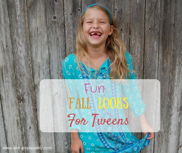 Looking for fabulous fall looks for your daughter? I have lots of choices.