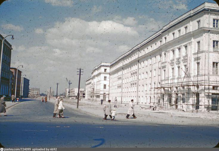 Warszawa 1956-1959, Ulica Ludwika Zamenhoffa
