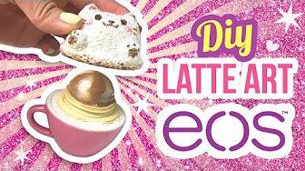 DIY Peppermint Hot Chocolate EOS!! A Cute Winter EOS Lip Balm - YouTube