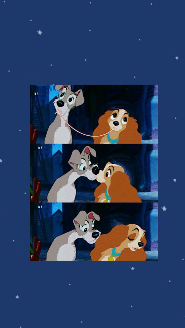 Lady And The Tramp Wallpaper Disney Wallpaper Cute Disney Wallpaper Vintage Disney Posters