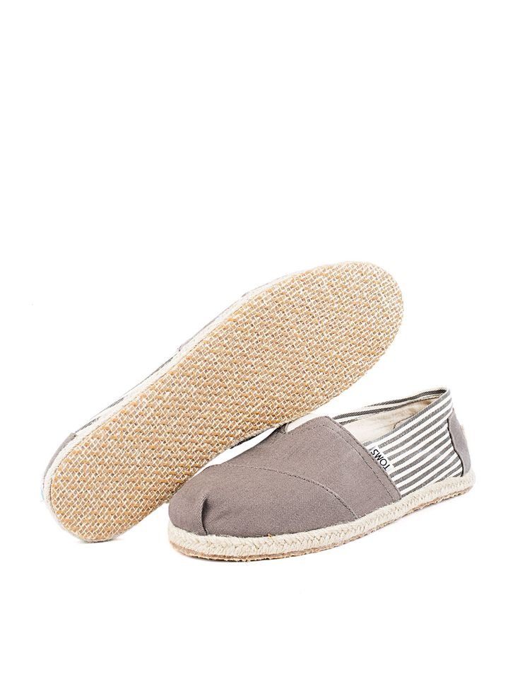 Visítanos en www.clickonero.com.mx... ... Camina con estilo... #fashion #moda #zapatos #tenis #calzado #alpargata #toms #rayas #gris