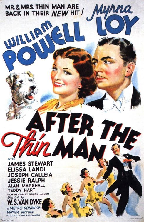 William Powell..the only man with a mustache I loved enough to ignore it. He was so charming back in the day..and Asta cutie dog..not to mention Myrna Loy not even at full power