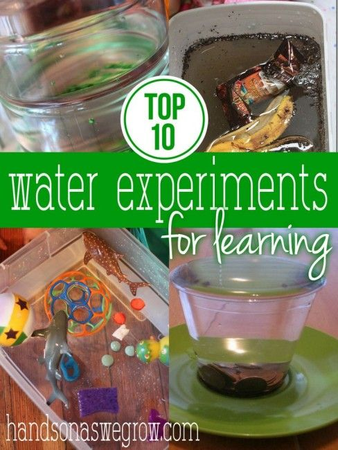 Top 10 Water Experiments for Kids