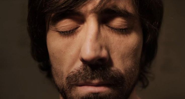 """I'm alive and my soul uselessly improves"". La migala (2011), dir. Jaime Dezcallar. A screenshot from the film."