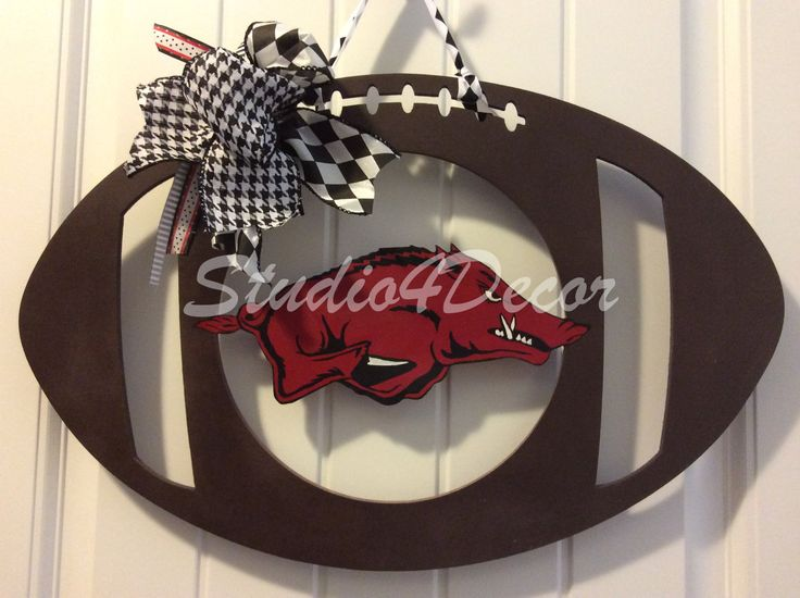 Hog Football-SHIPS NOW by Studio4Decor on Etsy