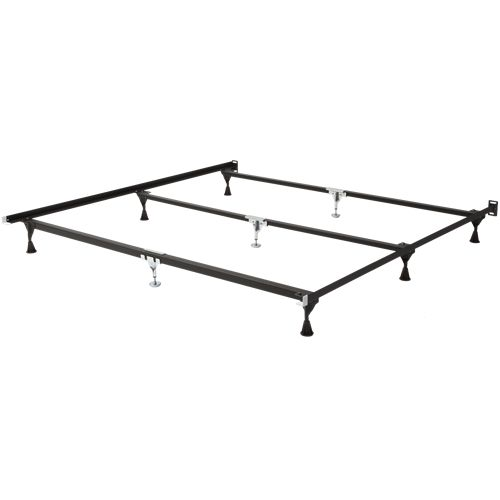 railroad steel mantua bed frames are tough and dependable adjustable width from queen to california king to king size this frame is also heavy duty