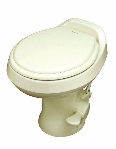 Dometic 300 Series Standard Height Toilet| Bone