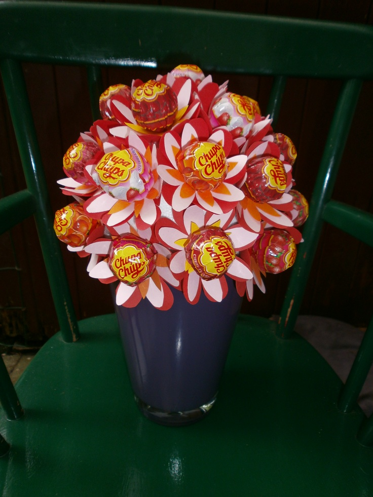 Chupachup flowerpot