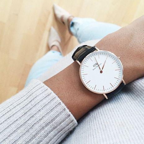 J'adore cette montre Wellington