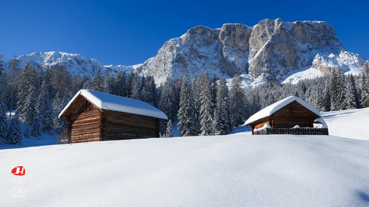 Dolomites winter wonderland by holimites.com