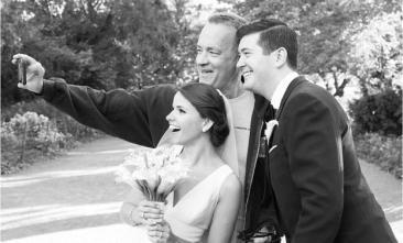 Tom Hanks esküvőzik | Fotó via MEG MILLER PHOTOGRAPHY - PROAKTIVdirekt Életmód magazin és hírek - proaktivdirekt.com