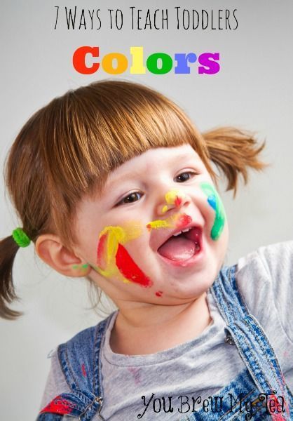 Check out our tips for ways to teach toddlers colors! Great tips to use with your kids in playtime or a homeschool classroom to keep little ones busy!