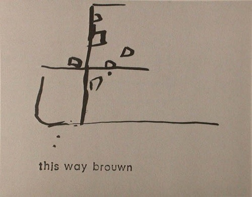 "wish list: Stanley Brouwn, ""This Way Brouwn"""