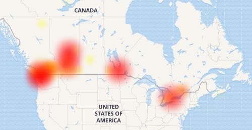 Canada Reports Countrywide Internet, TV, Phone Outage