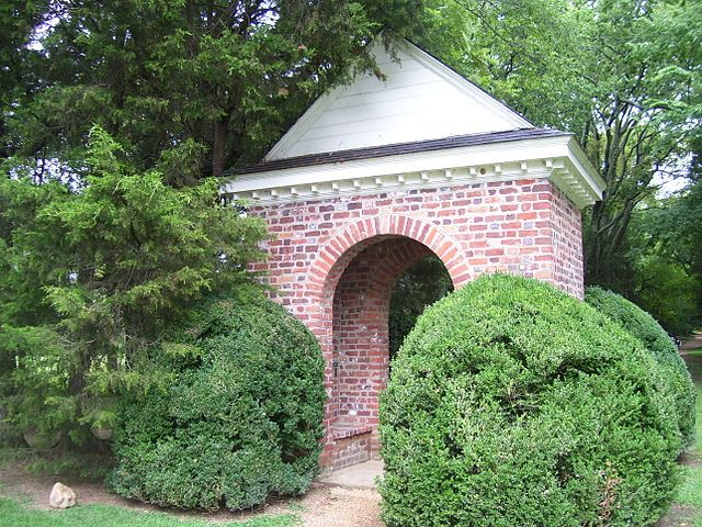 Shrine of the first U.S. Thanksgiving in 1619 at Berkeley Plantation, in Charles City County, Virginia Joe Orbin - Own work   https://upload.wikimedia.org/wikipedia/commons/thumb/7/74/Berkeley_Plantation%2C_Shrine_marking_1st_Thanksgiving_in_America.jpg/640px-Berkeley_Plantation%2C_Shrine_marking_1st_Thanksgiving_in_America.jpg