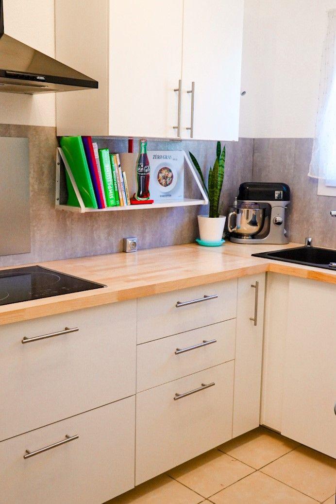 cuisine moderne avec plan de travail