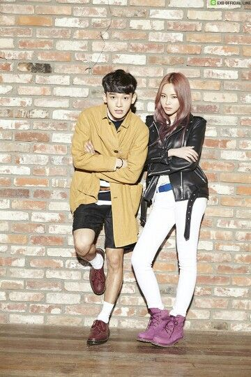 """Tonight at midnight(KST), SM STATION's new song """"Lil' Something"""" sung by EXO's CHEN and Heize, produced by Vibe's Jae Hyun Ryu and it's MV will be released online!"""