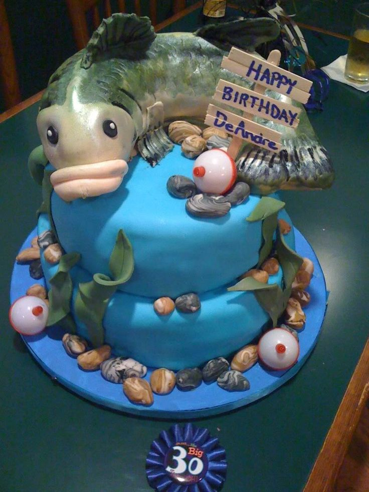 180 best retirement gifts party ideas images on pinterest for Fish cake design