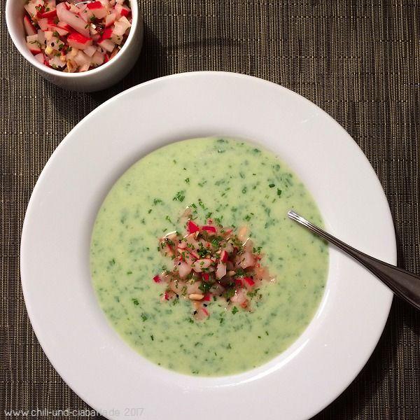 Chili und Ciabatta: Radieschen-Buttermilch-Suppe mit Relish