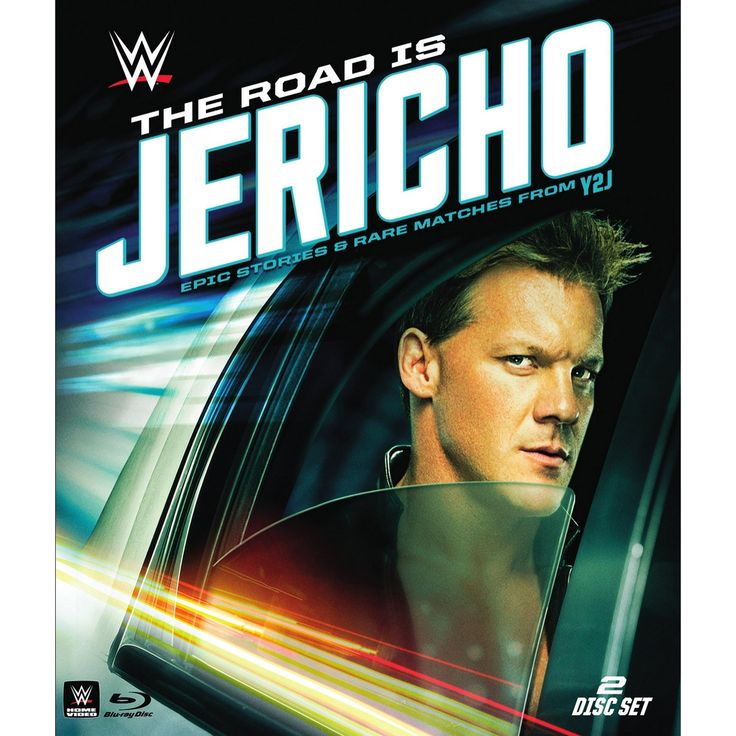 Wwe:Road is jericho epic stories & ra (Blu-ray)