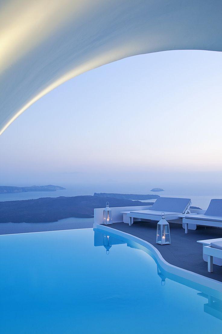 12 Sensational Cave Pools In Santorini | Luxury Accommodations