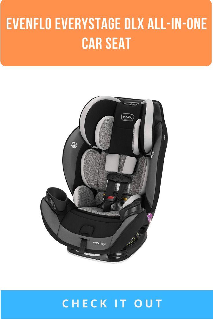 Evenflo everystage dlx allinone car seat kids rear