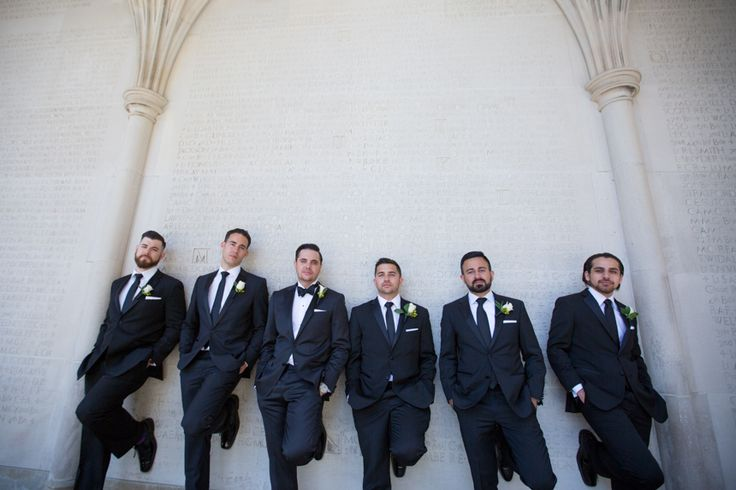Hart House wedding party just guys