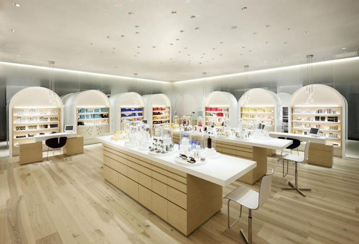 Shiseido The Ginza by Klein Dytham Architects, Ginza